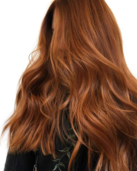 dusty-copper-color-hair-color-trends-2019-min