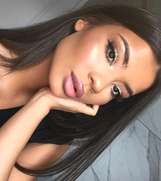 ombre-pink-lips-makeup-night-out-makeup-ideas-min