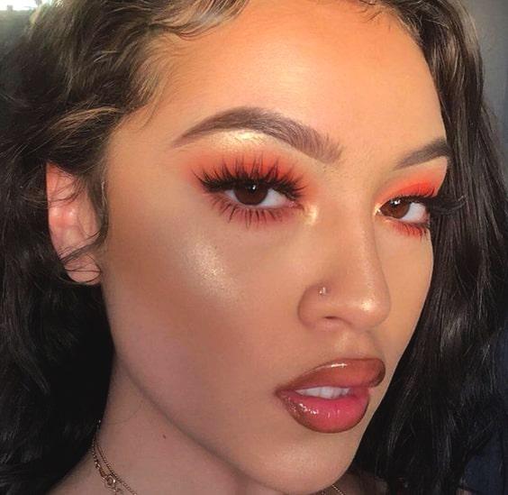 orange-eyeshadow-makeup-looks-min