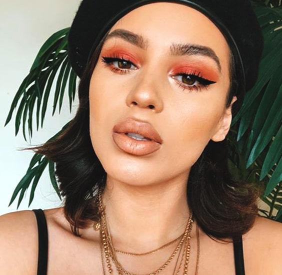 peachy-makeup-looks-night-ouy-makeup-ideas-min