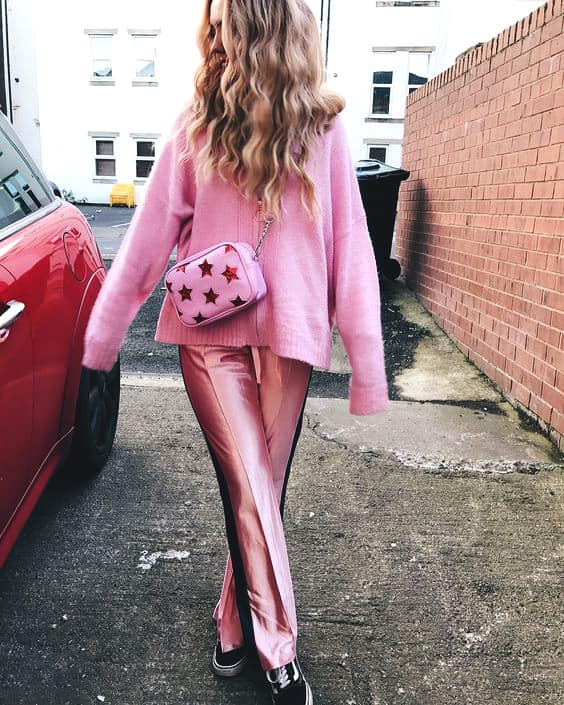 pink-trouser-pink-sweater-outfit-for-valentines-day