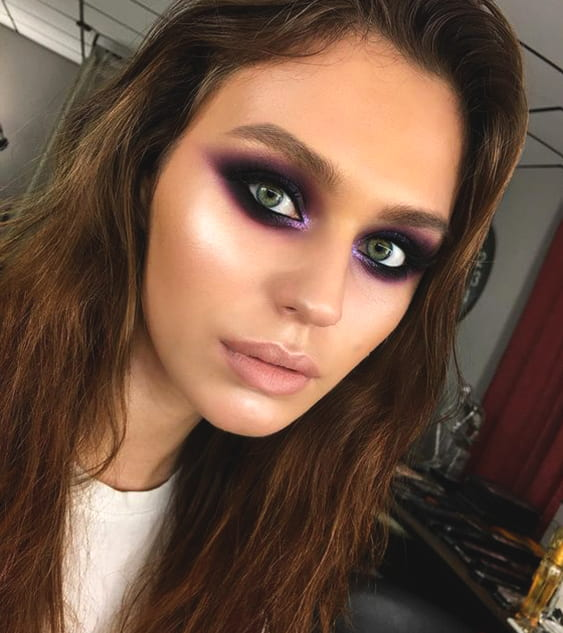 purple-bold-eyes-makeup-look-night-out-makeup-min