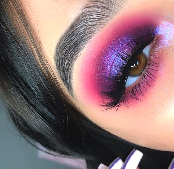 purple-pink-eyeshadow-makeup-ideas-night-out-makeup-min