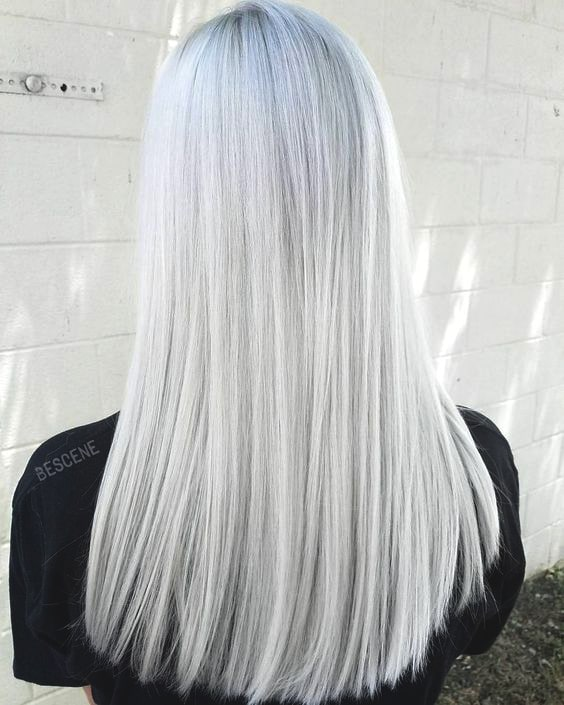 snow-bunny-blonde-hair-color-trend-2019-hairstyles