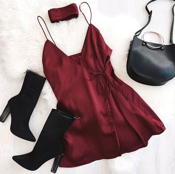 wrap-burgundy-mini-dress-suede-boots-outfit-idea-valentines-day-min
