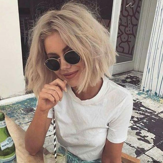 blonde-blunt-bob-haircut-trend-2019-hairstyles