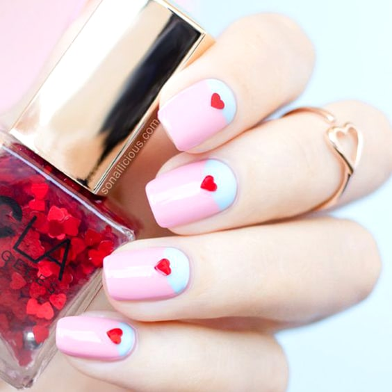 cute-valentines-day-nail-design-diy-nail-design-ideas-min