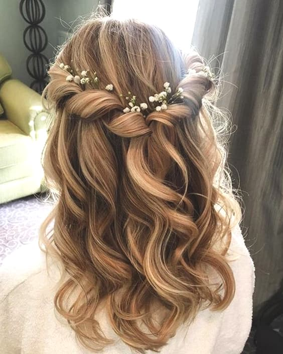 Medium Length Hairstyles For Weddings: 72 Romantic Wedding Hairstyle Trends In 2019