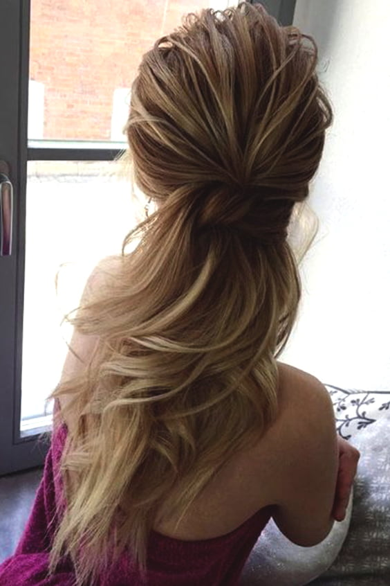 Low Ponytail Wedding Hairstyles Min Ecemella