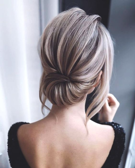 messy-low-updo-wedding-hairstyle-2019-min