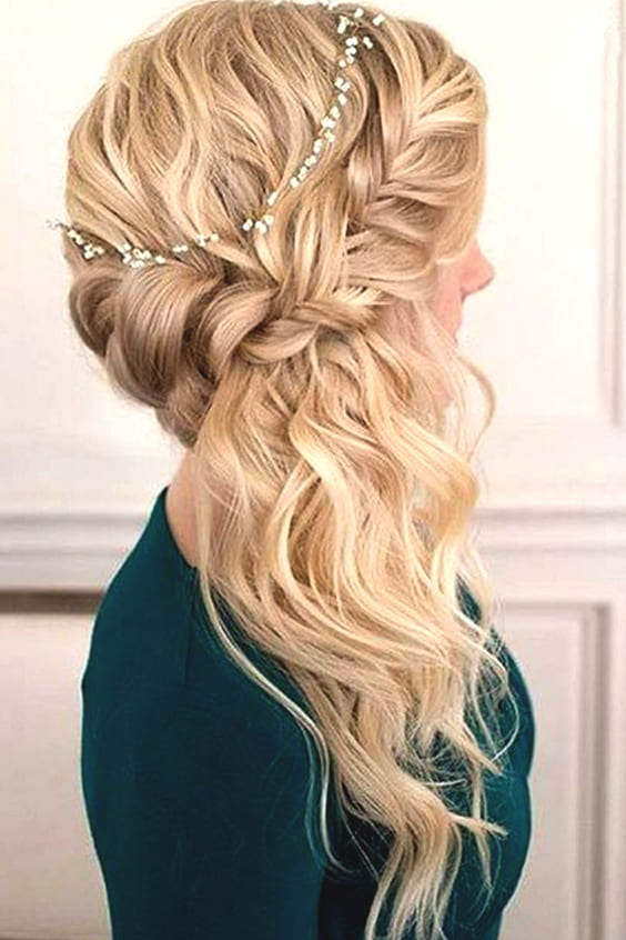 side-swept-curls-braided-wedding-hairstyle-min