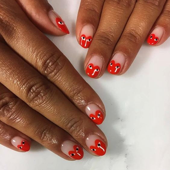 valentines-day-cute-diy-nail-art-designs-heart-tips-min