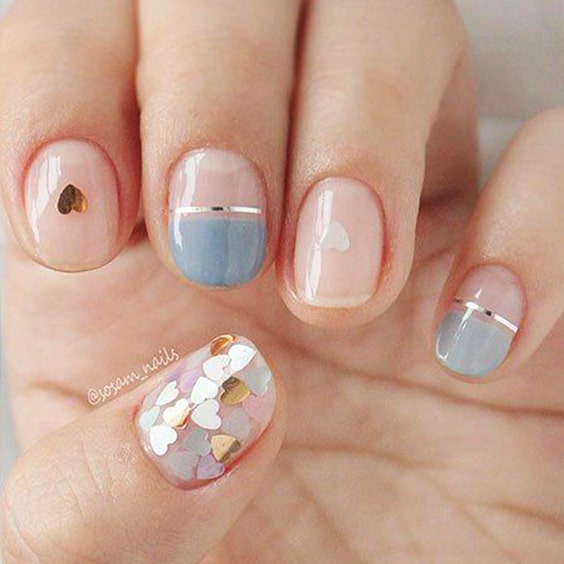 valentines-day-diy-nail-design-ideas-gold-nail-designs-min