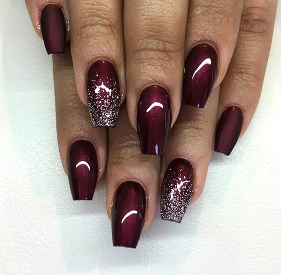 valentines-day-diy-nail-designs-burgundy-nails-min