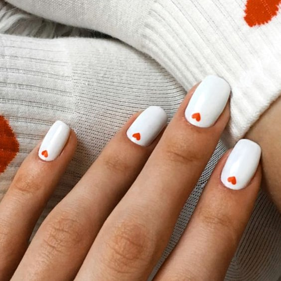 valentines-day-nail-design-white-nail-polish-manicure