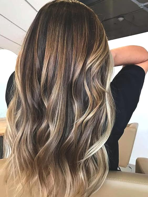 golden-highlights-for-brunettes-min