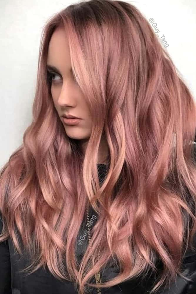 spring-hair-color-ideas-rose-gold-hair-min