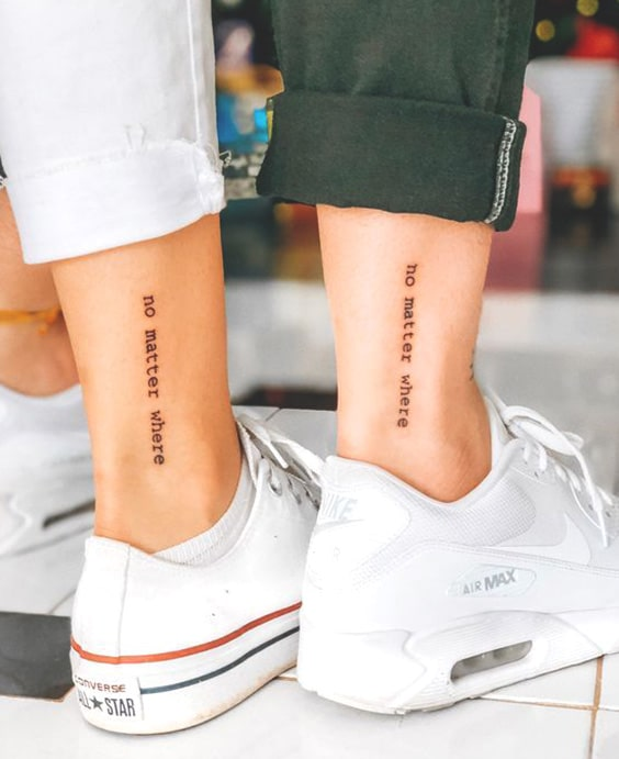 81 Unique & Matching Couples\' Tattoo Ideas in 2019 | Ecemella