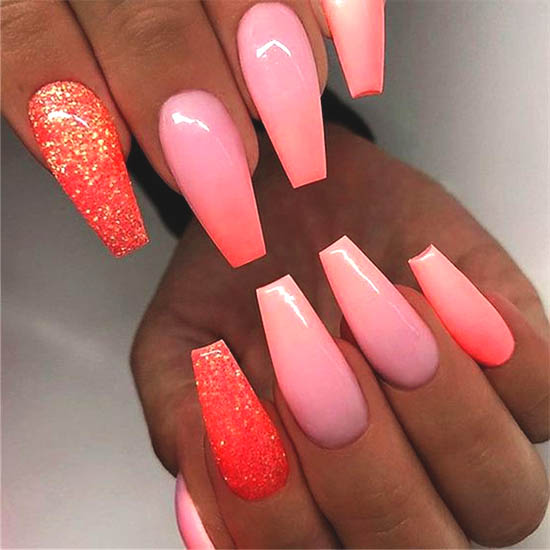Over 50 Bright Summer Nail Art Designs That Will Be So Trendy All Season