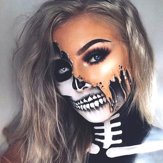 64 Sexy But Spooky Halloween Makeup Ideas To Try This