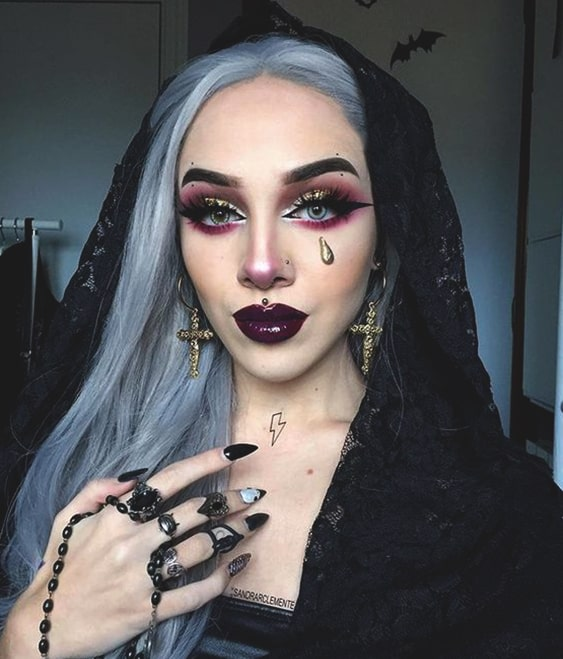 halloween-witch-makeup-idea | Ecemella