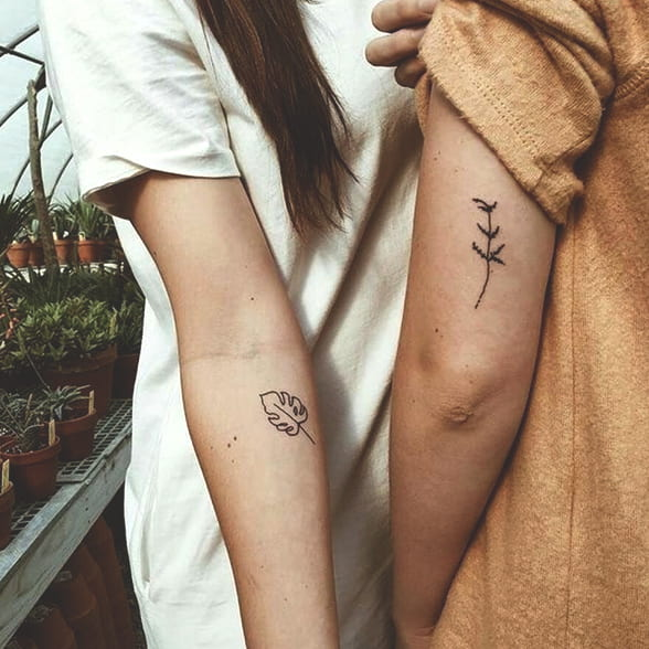 72 Creative Matching Best Friend Tattoos In 2020 That Are Super Cute