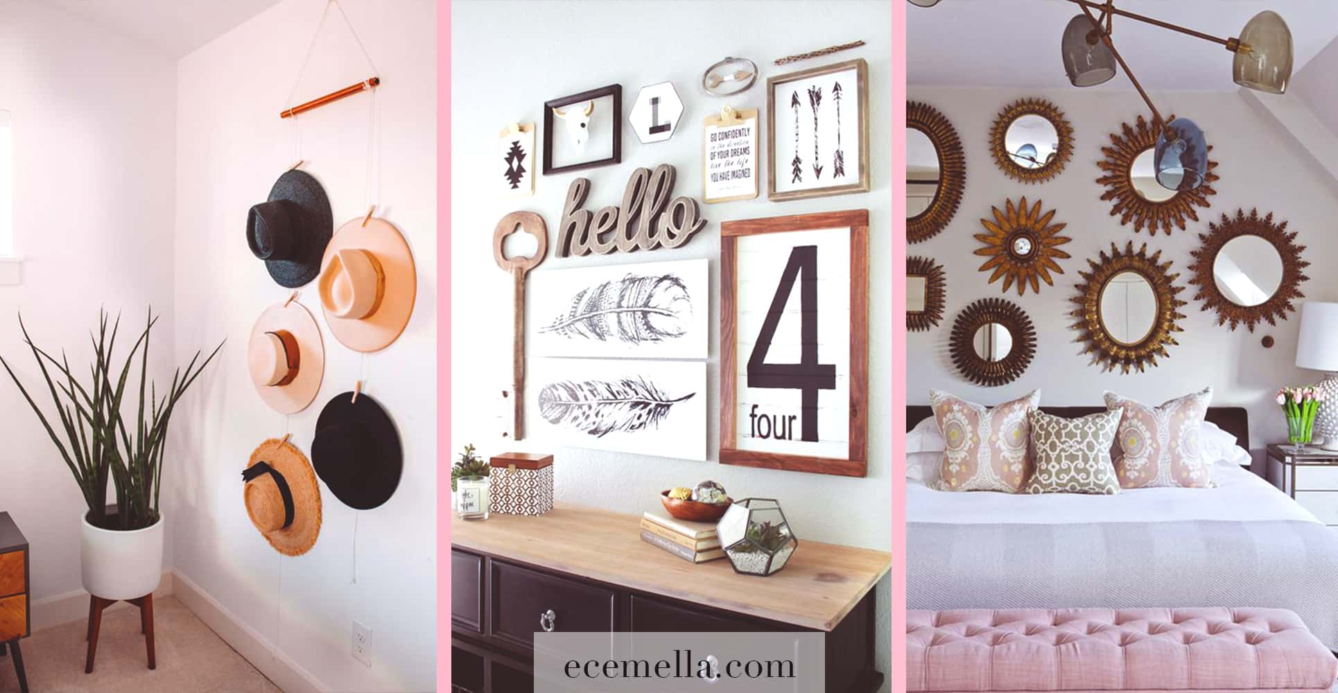 How To Decorate Your Blank Walls: 19 Inspirational Chic Ideas