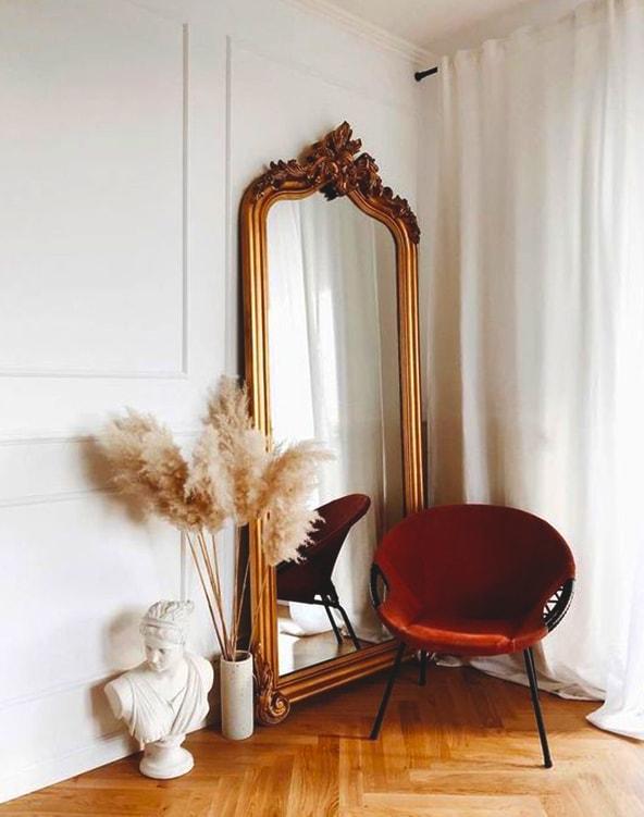 Floor Mirror Wall Decor Idea Ecemella