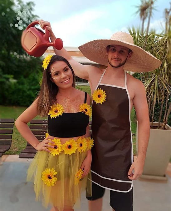 14 Affordable & Cute DIY Halloween Costumes for Couples